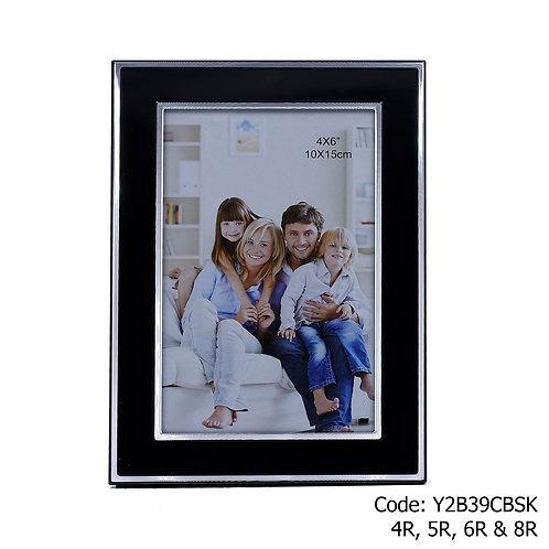 Y2B39CBSK Black Metal Frame