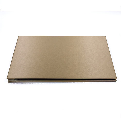 AL4R8gold - Hard cover album 4R pocket