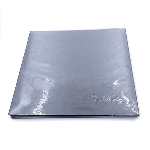 AL4R12silverWedding - Hard cover album 4R pocket