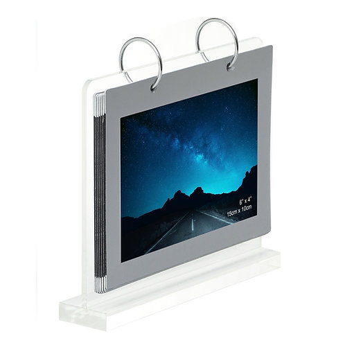 Acrylic calendar stand, high quality calendar stand, 4R calendar stand, kt colour, kt photo,