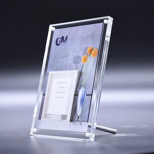 A202 acrylic frame, 4R acrylic frame, high quality crylic frame, magnetic acrylic frame, magnet lock acrylic frame, KT colour