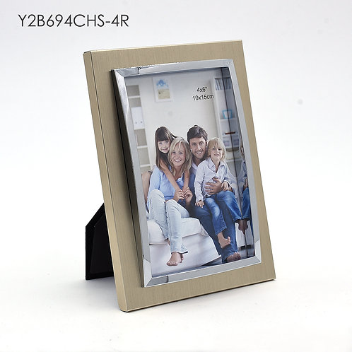 Y2B694CHS-4R series - Gold with shining Metal Frame