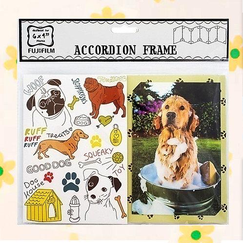 "84745 ACCORDION 6X4"" - DOG"