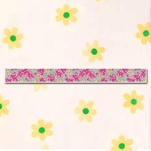 90260000039 Washi Tape - Floral Design Green