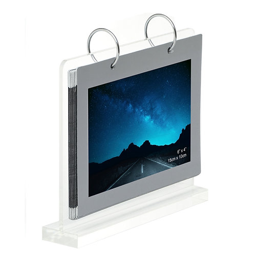 L5022 - Acrylic frame with 14 pcs 4R photo holder