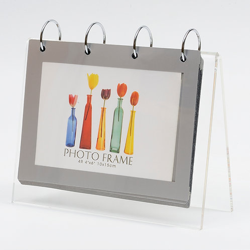 L5002 - Acrylic frame with 14 pcs 4R photo