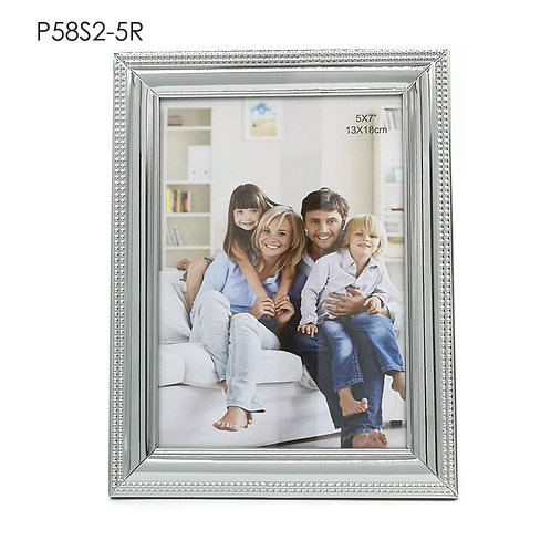 P58S2-5R - Metal Frame with shining chrome finishing