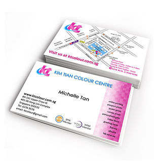 kt colour best quality namecard printing,