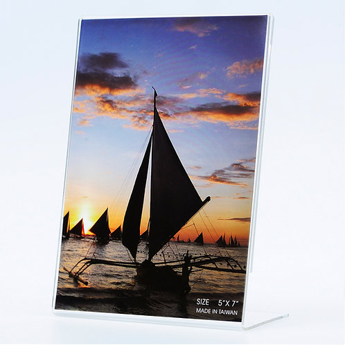 206V - Acrylic frame landscape. Multi sizes