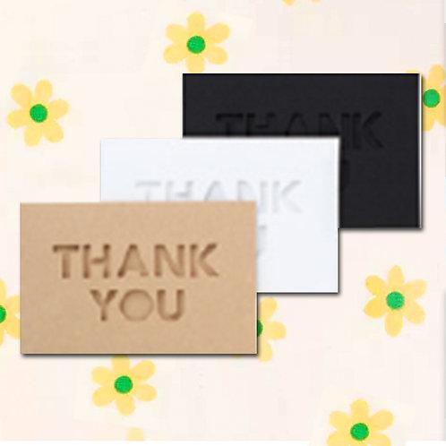 90260000053 Deco mini card - Thank you