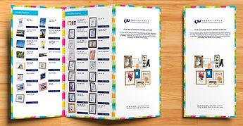 Catalogue, menu printing.