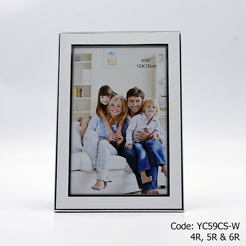 YC59CS-W - White Metal Frame