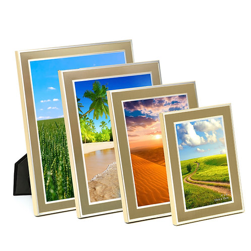 Y2B39CHSK series. Metal frame with Gold finishing