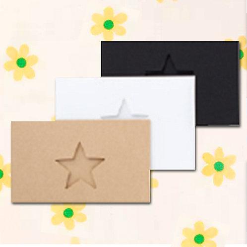 90260000056 Deco mini card - Star