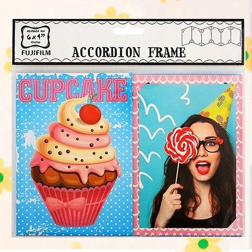 "84747 ACCORDION 6X4"" - CUP CAKE"