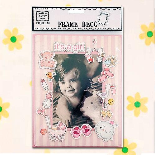 "84805 Frame Deco - Baby Girl 6 x 4"""