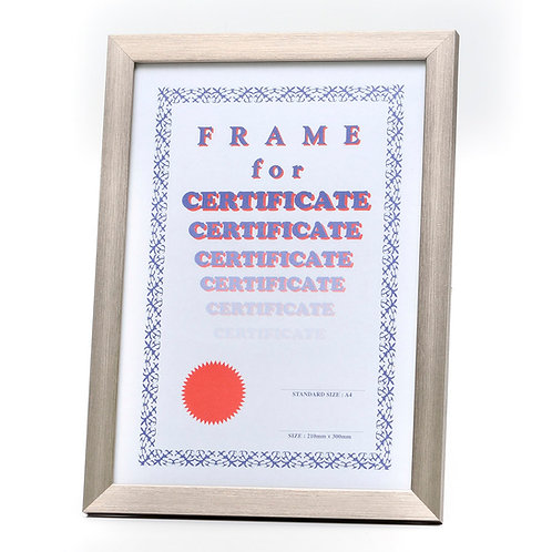 Code: S022 Silver Wooden frames