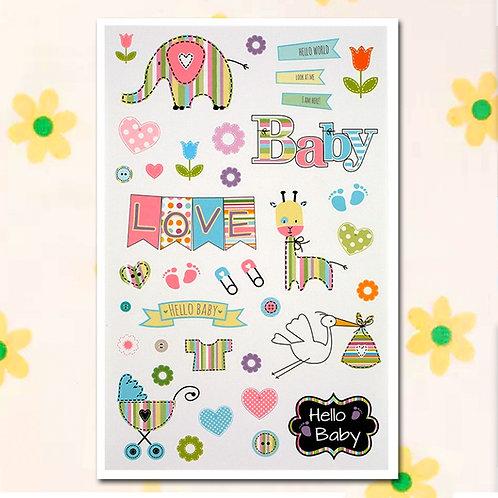 84809 Sticker - Baby