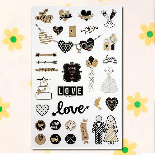 84814 Sticker - Wedding