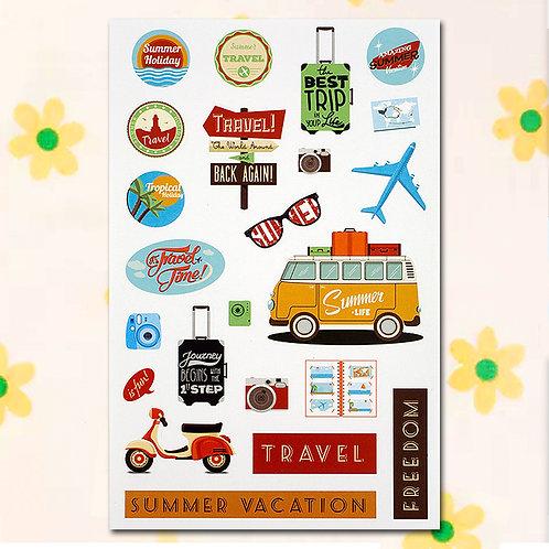 84816 Sticker - Travel