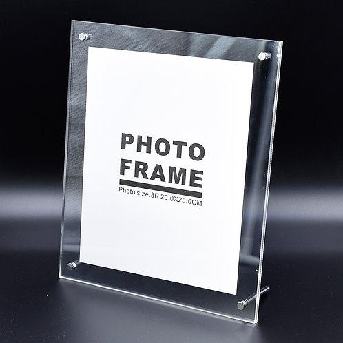 B0987/8R - Acrylic frame, size 250mm x 300mm x 8mm