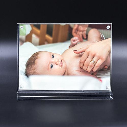 T shape acrylic frame, high clarity acrylic, high quality photo frame, cheap picture frame, kt colour