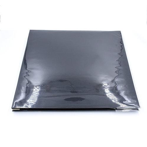 AL4R12black - Hard cover album 4R pocket