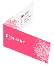 folded namecard