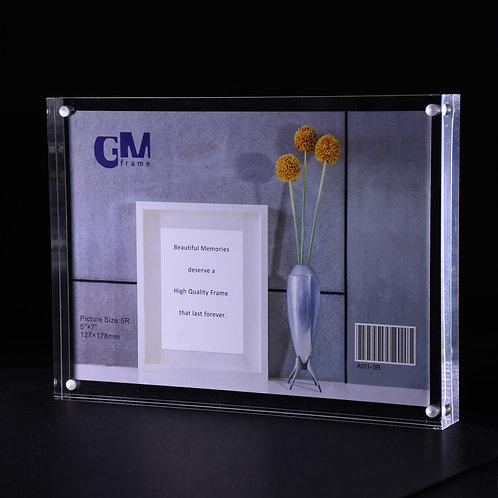 A101-6R Acrylic block frame, 6R size