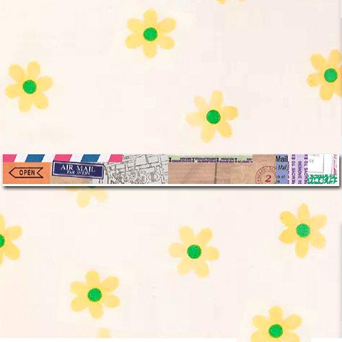 90260000035 Washi Tape - Travel Theme