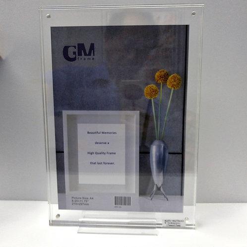 Code: 0967 A4 Acrylic Block Frame