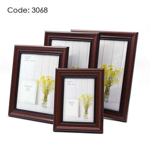 3068 - Wood picture frame