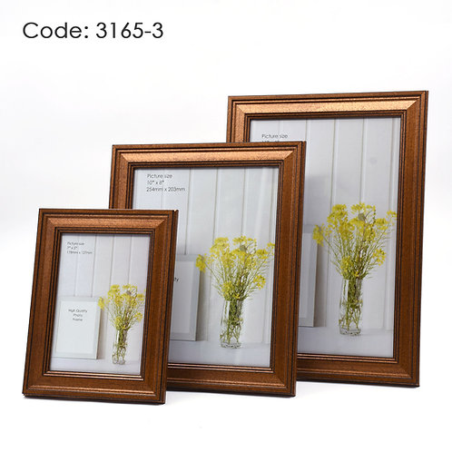 3165.3 - Wood picture frame