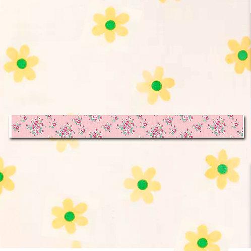 90260000038 Washi Tape - Floral Design Pink