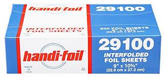 Foil Sheets