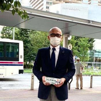 令和2年9月21日武蔵小金井駅にてご挨拶申し上げました。