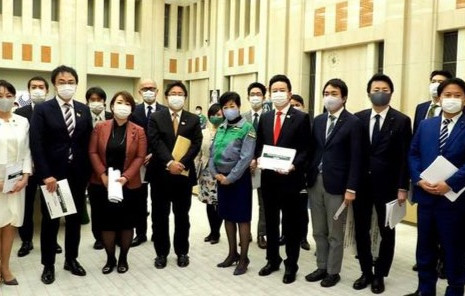 令和2年12月24日、「東京都令和3年度予算に対する要望」を行いました。