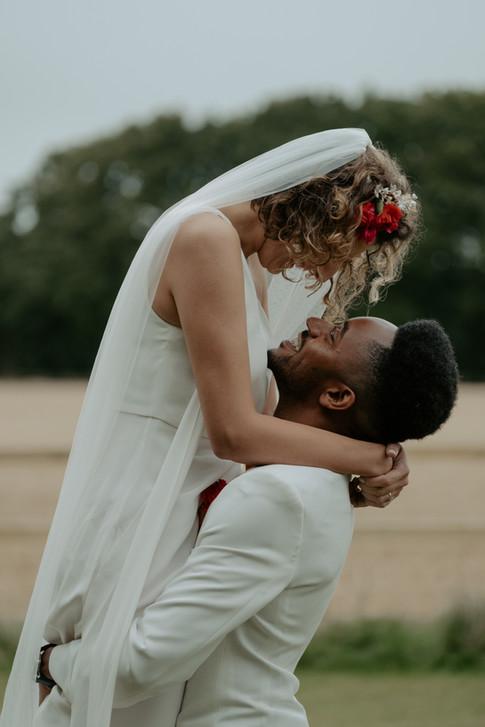 White Skye Fields Wedding