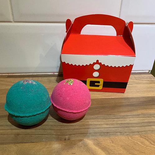 Santa box duo set