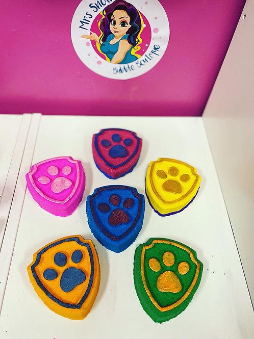 Paw badges
