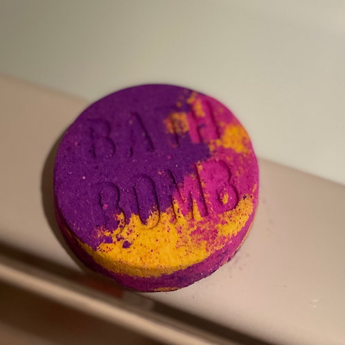 Sunrise shimmer bath bomb