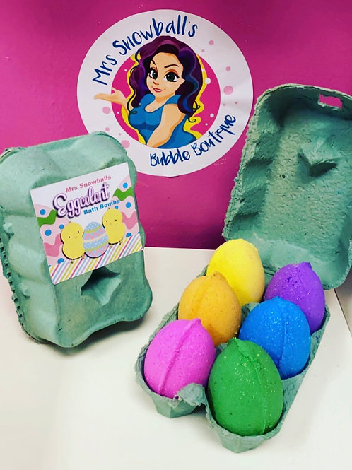 Easter Egg set - 6 Bath Bombs
