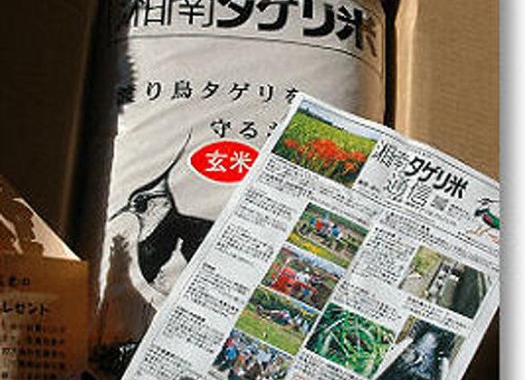 湘南タゲリ米(玄米+黒米セット)