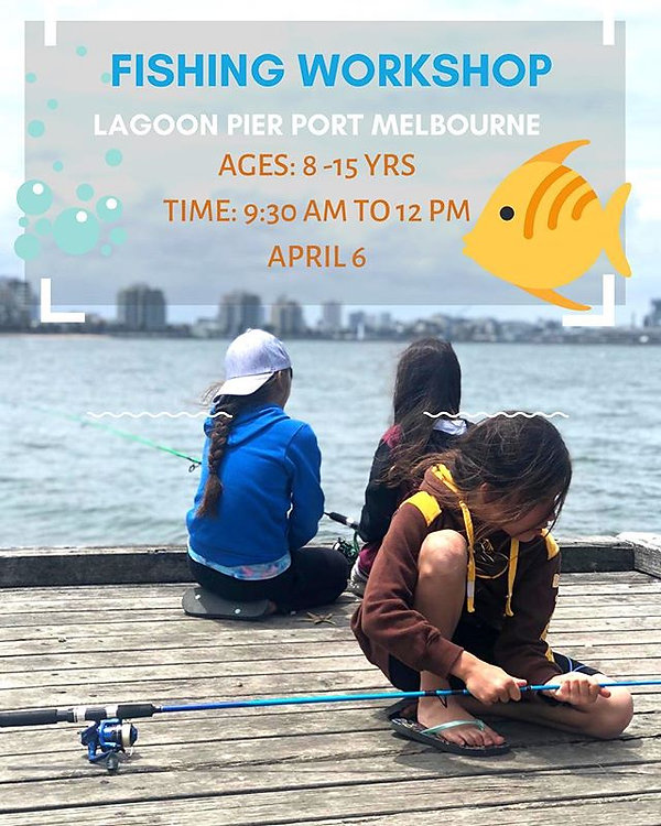 🎣🎣Join us this April at Port Melbourne