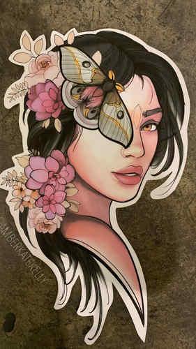 10. Girl Moth
