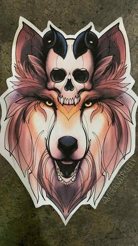 3. Wolf Skull