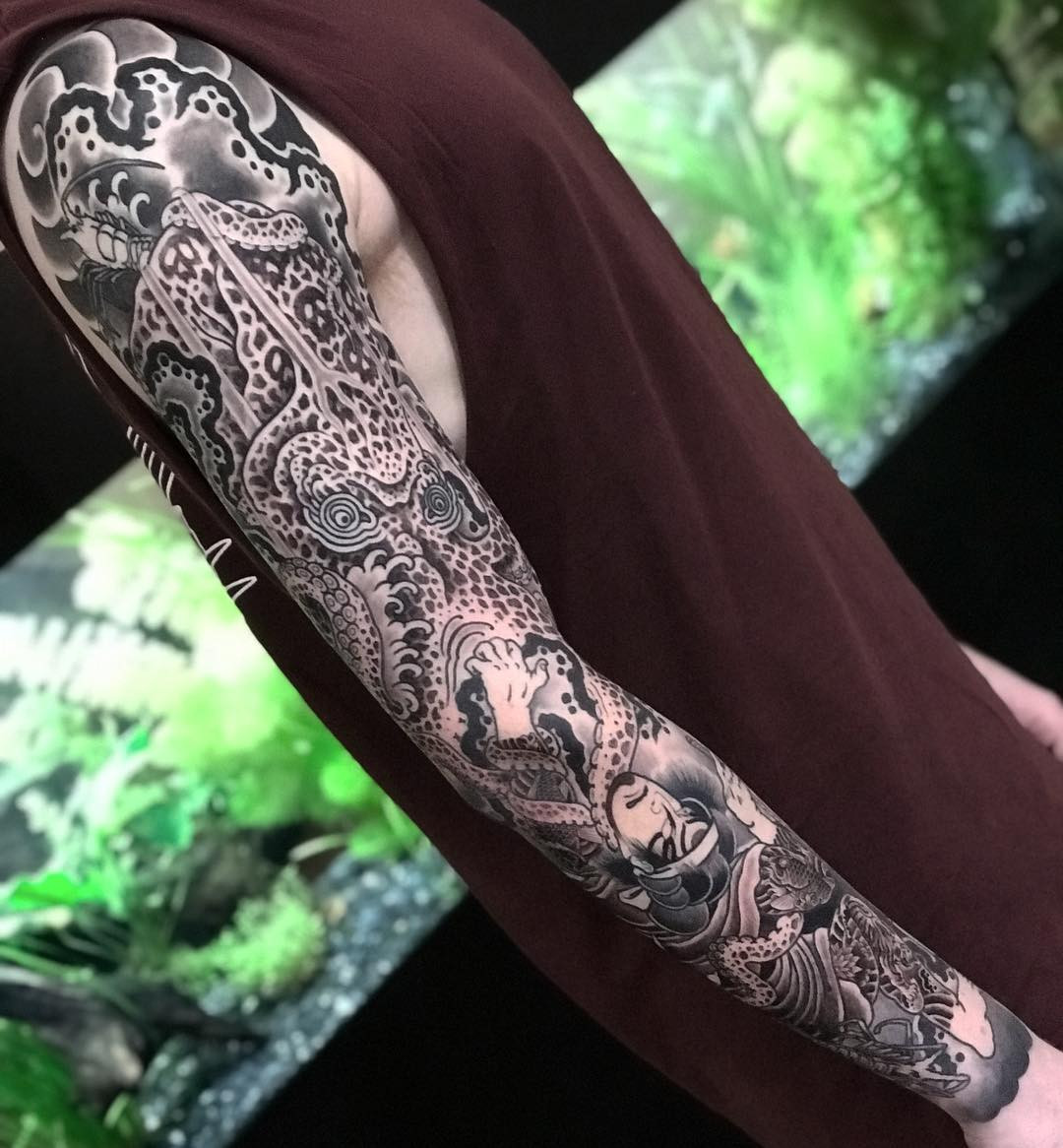 Amazing Japanese Sleeve Tattoos