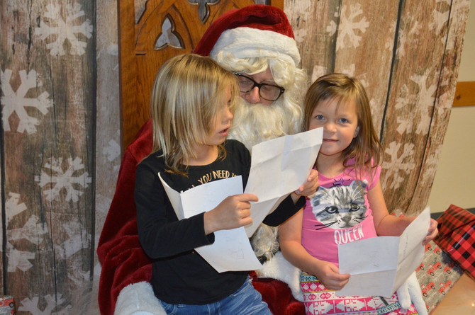 News for 12/4/19 SANTA Was HERE!