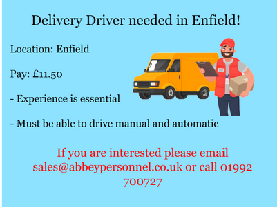 Drivers Needed!