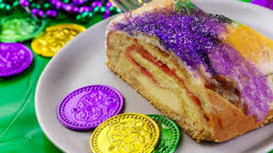 King Cake (Strawberry Filling)